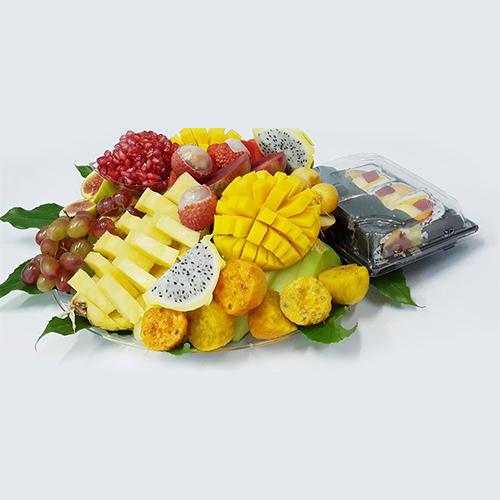 טופרי גלגול וסושי פירות